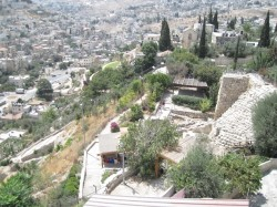 1-Looking down at Nehemiah's wall