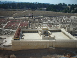 Model of Temple in Jerusalem